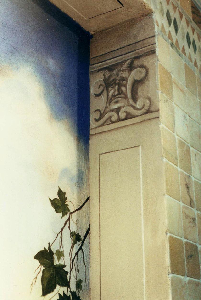 Francesca Tangocci wall paintings